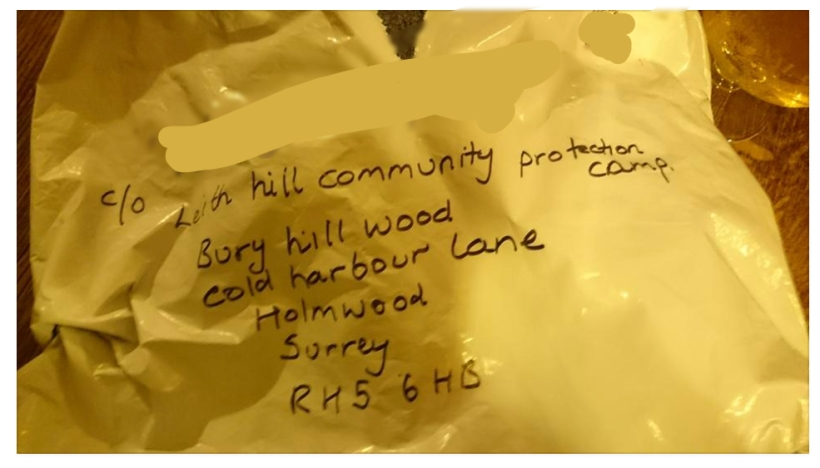 save-leith-hill-camp-postal-address-parcel